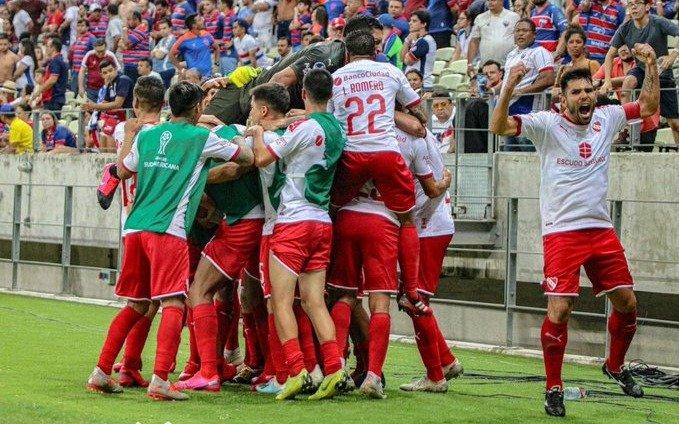 VIDEO: Con un gol agónico en Brasil, el Rojo avanzó en la Copa Sudamericana