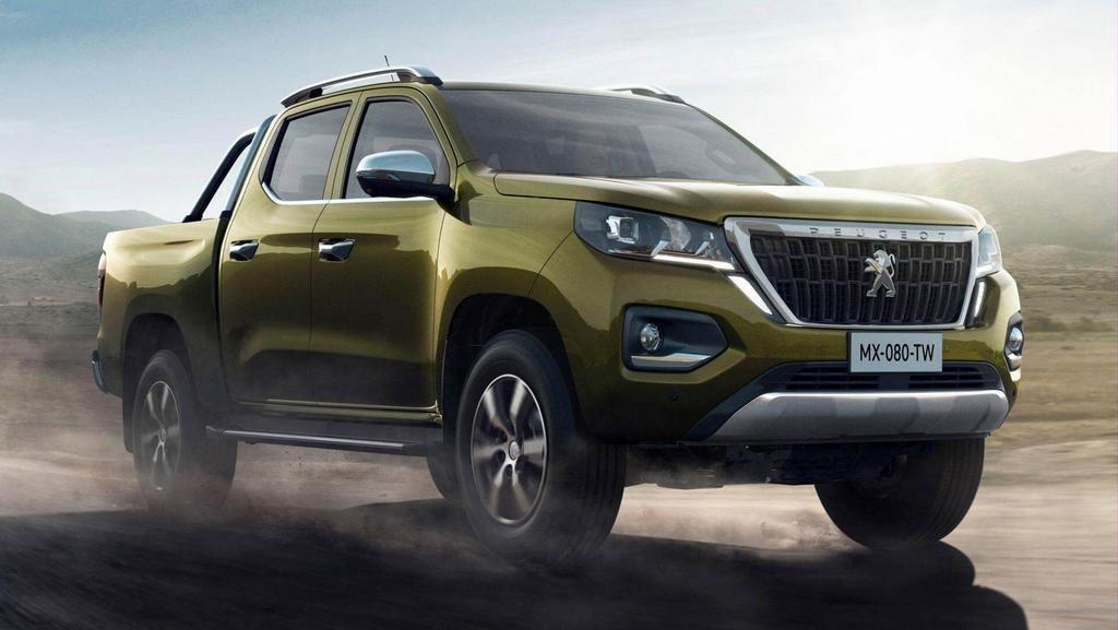Peugeot entra en segmento de pick-up con el Landtrek