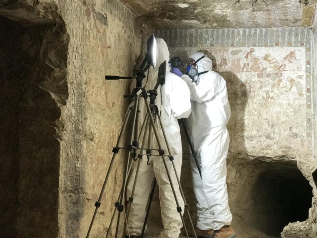 Un paso clave hacia el enigma de una antigua tumba egipcia