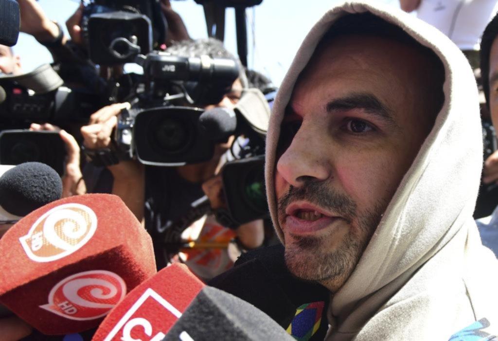 """Salió Tablado, les pidió perdón a """"todas las mujeres"""" y dijo no saber por qué mató a Aló"""