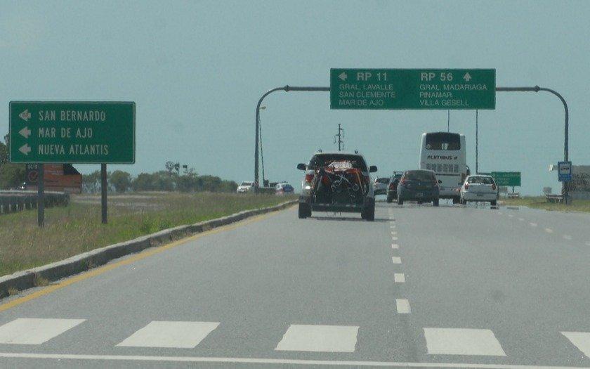 Destacan baja de accidentes viales en  el tramo interbalneario de la ruta 11