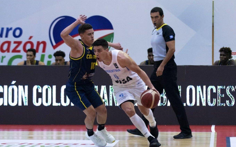 Histórico: Colombia le ganó a la Argentina en basquet por primera vez