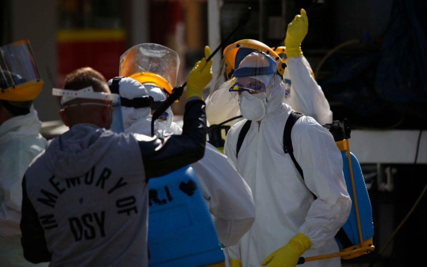 Coronavirus en Argentina: 7.477 nuevos casos y otras 155 muertes este martes
