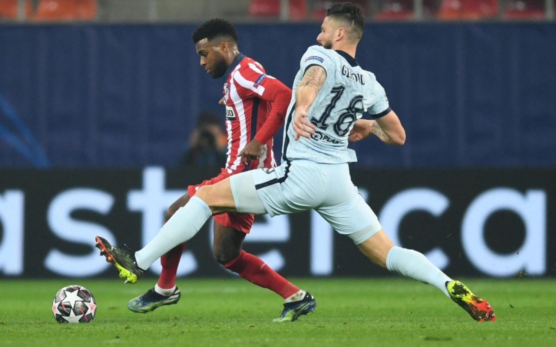 El Atlético del Cholo Simeone no puede reponerse: cayó 1-0 por la Champions