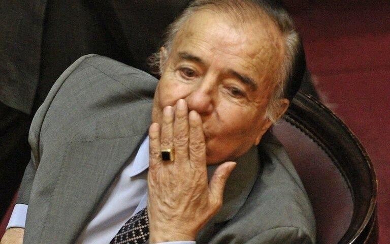 Identificaron al autor del robo del anillo de Carlos Menem