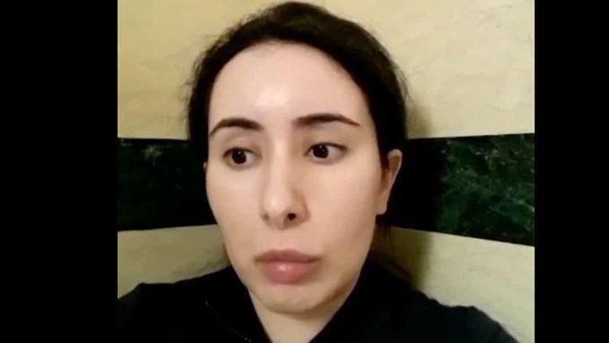 """La princesa """"rehén"""" en Dubai pide por su hermana"""