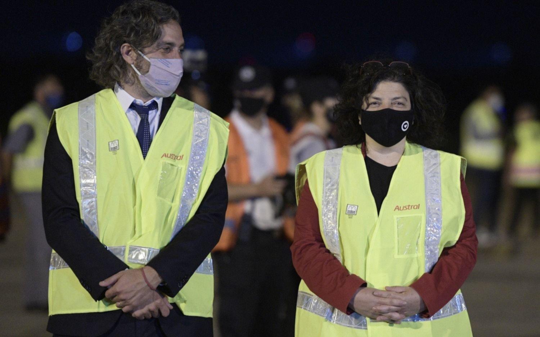 La ministra de Salud Carla Vizzotti dio positivo de coronavirus: aislada igual que Cafiero