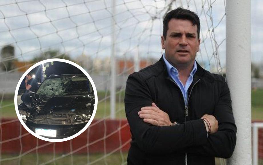 Pablo Cavallero, ex arquero de la Selección, atropelló a un hombre en Etcheverry que murió en el acto