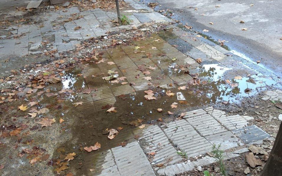 Una importante pérdida de agua en 1 y 67