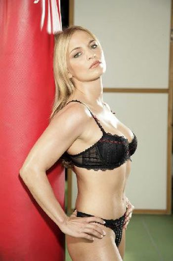 Regina Halmich, la boxeadora que hizo una producción para