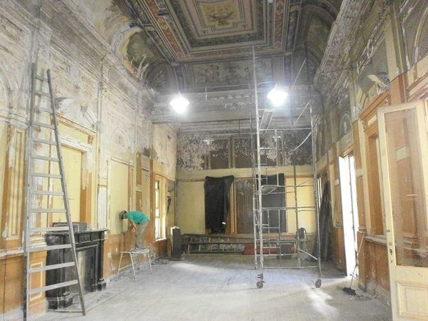 Ex alumnos recuperan la histórica sede del ex comercial San Martín