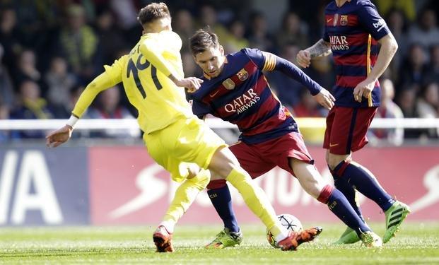 El Barcelona no pudo con el Villarreal