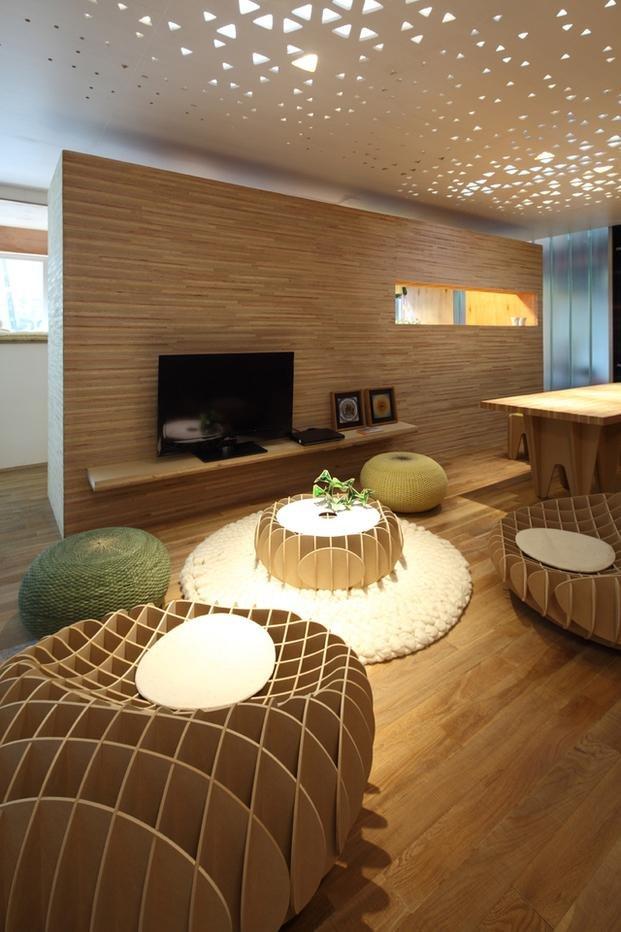 Casa sostenible deco Arquitectura decoracion de interiores