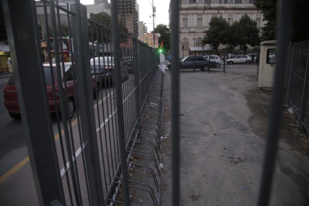 Los bicicleteros municipales, desactivados