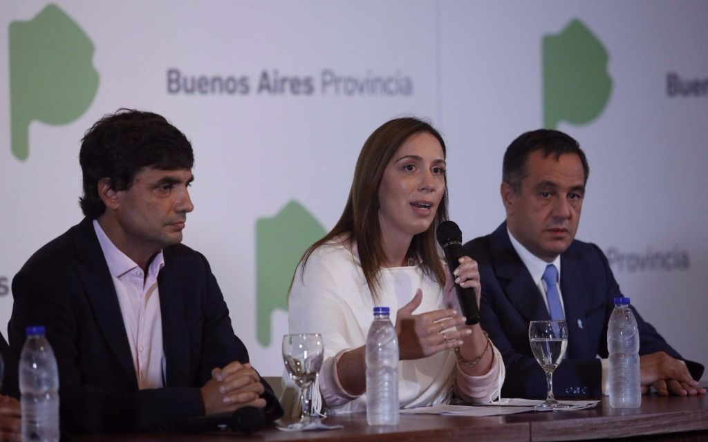 Previo a la reunión de esta tarde, Vidal volvió a criticar paro docente