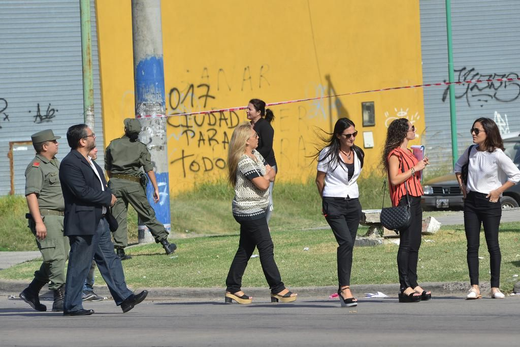 Balacera en 44 y 150: la fiscal recorrió la escena fatal junto a Gendarmería