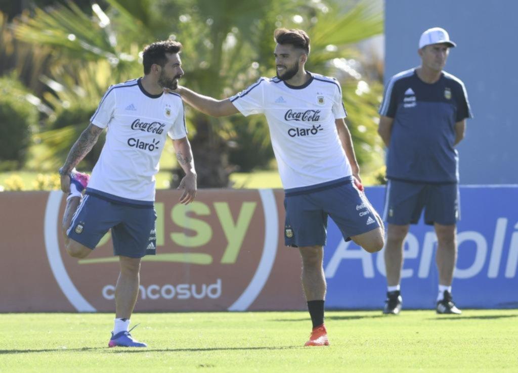 Dybala en duda, Zabaleta afuera y hoy se sumará Messi