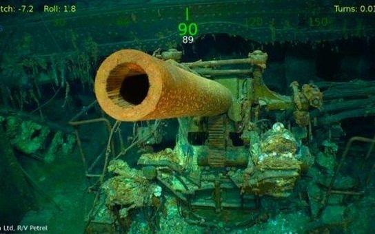 Hallan restos del USS Lexington, hundido durante la Segunda Guerra Mundial