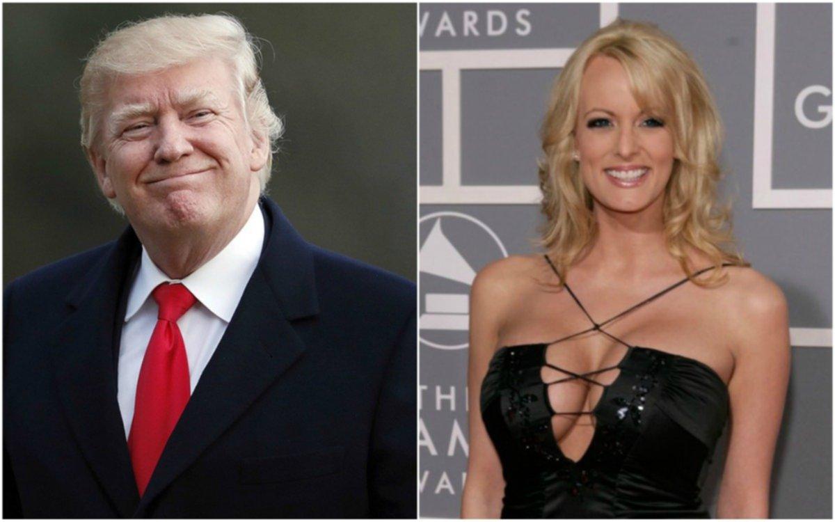 La actriz porno Stormy Daniels demandó a Trump para invalidar el pacto de silencio