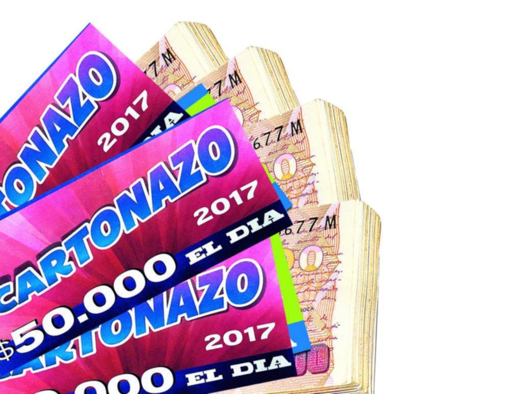 El Cartonazo de EL DIA pone en juego un premio récord que ya alcanzó los $200.000