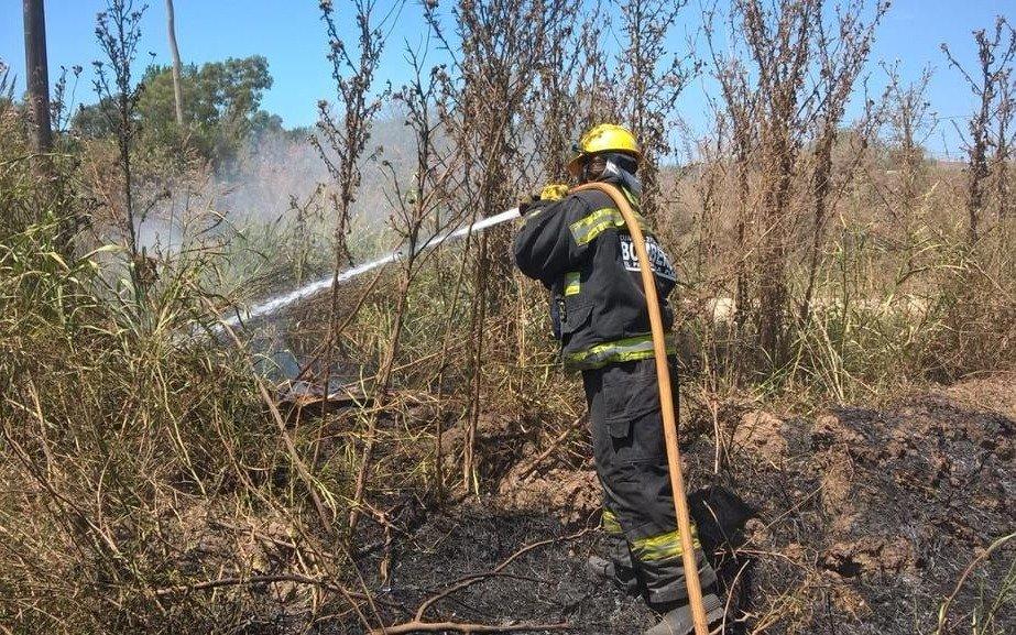 Otra vez el fuego en la zona de la selva marginal