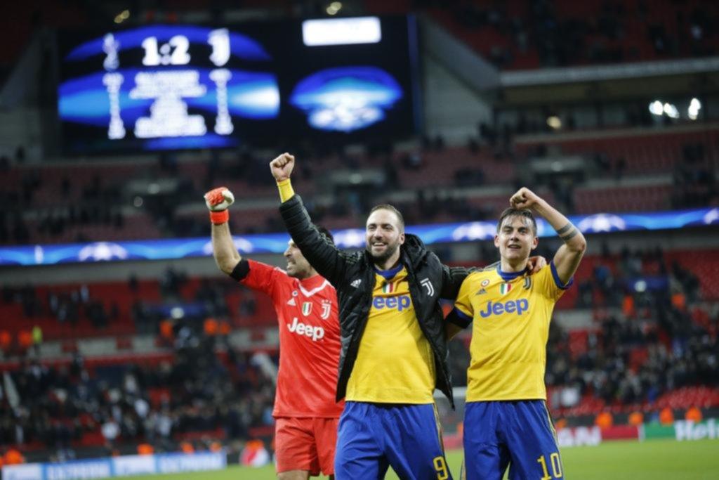 Higuaín y Dybala se aprovecharon de la ingenuidad del Tottenham
