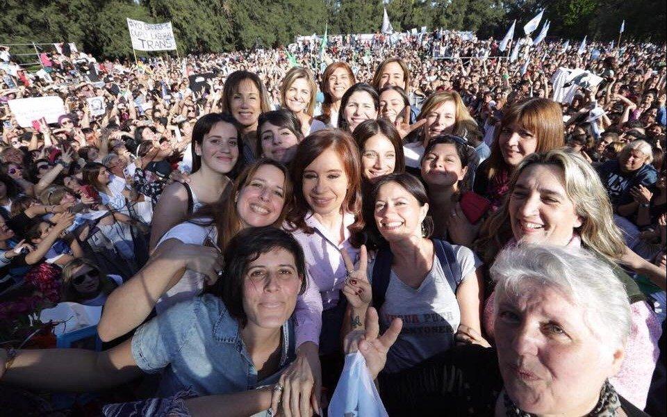 """Para Cristina, la """"derrota del machismo"""" depende de la victoria """"política, económica y social"""""""