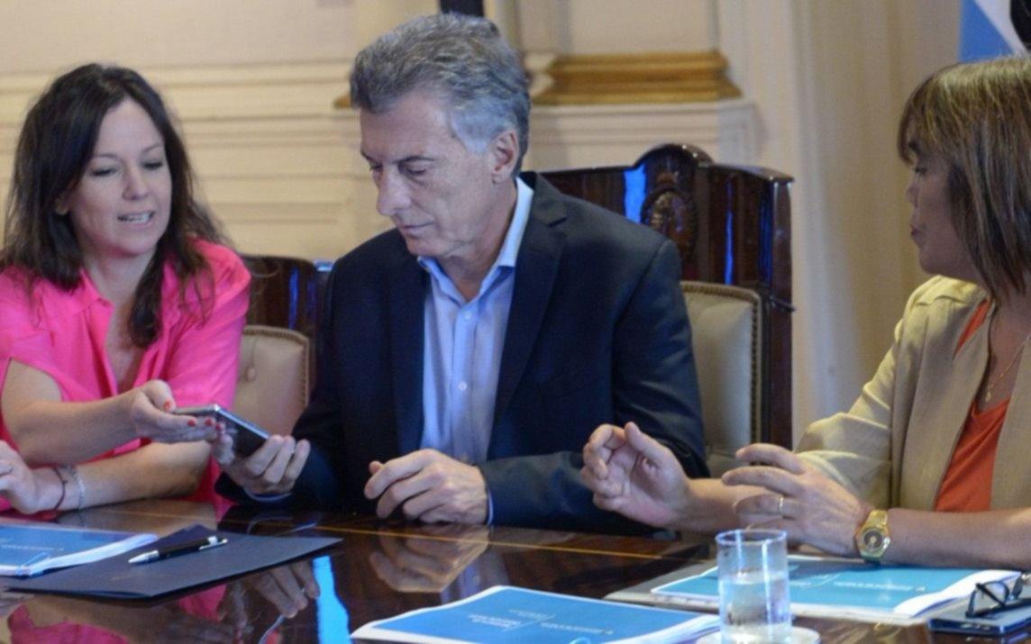 Mauricio Macri anunció un proyecto de ley para igualar los salarios