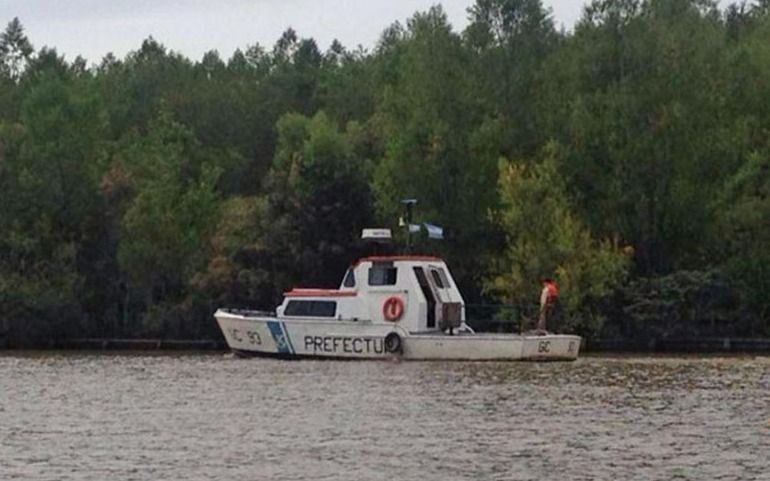 Naufragio en el río Paraná: un muerto y cuatro desaparecidos