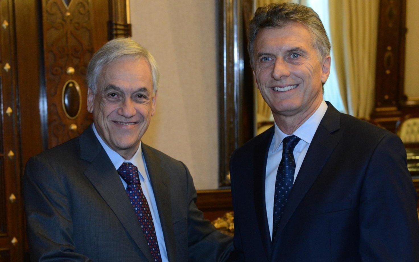Macri viajará a Chile para asistir a la asunción de Sebastián Piñera