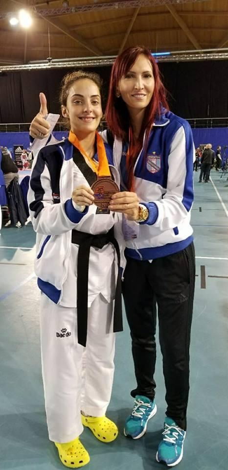 Gran actuación de Sofía Tournier en el Open de Holanda de Taekwondo