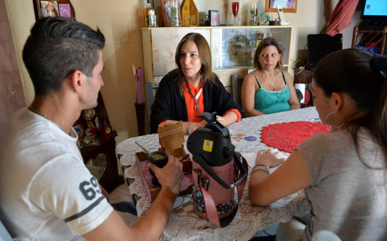 Vidal le reclamó un mayor esfuerzo a los productores rurales
