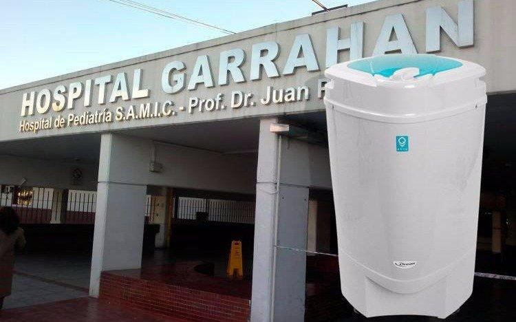 """En el Garrahan, preocupan los casos de """"enfermedad del secarropa"""" que afectan a niños"""
