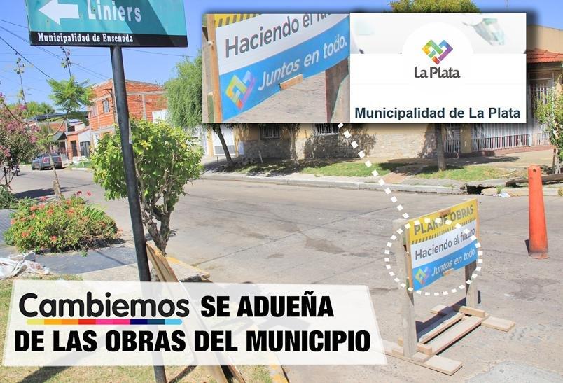 """En Ensenada denuncian que La Plata """"se adueña"""" de obras de bacheo"""