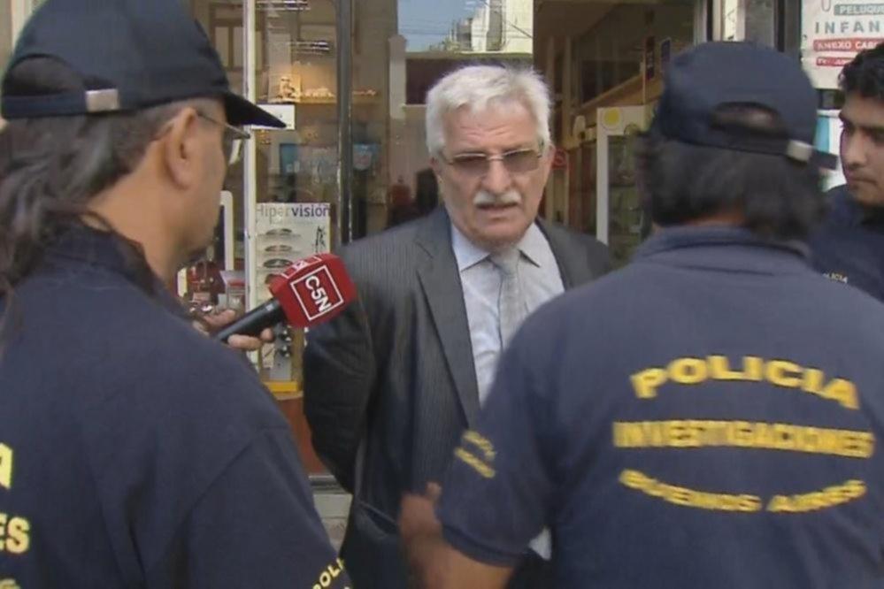Detienen al abogado Rubén Carrazzone por el femicidio de su esposa