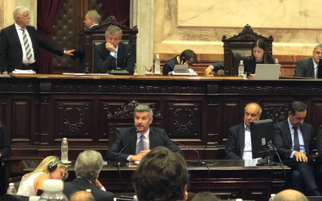 "Marcos Peña: ""ratificamos absolutamente a Luis Caputo como ministro de Finanzas"""