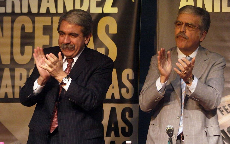 Aníbal Fernández visitó a De Vido en el penal de Marcos Paz