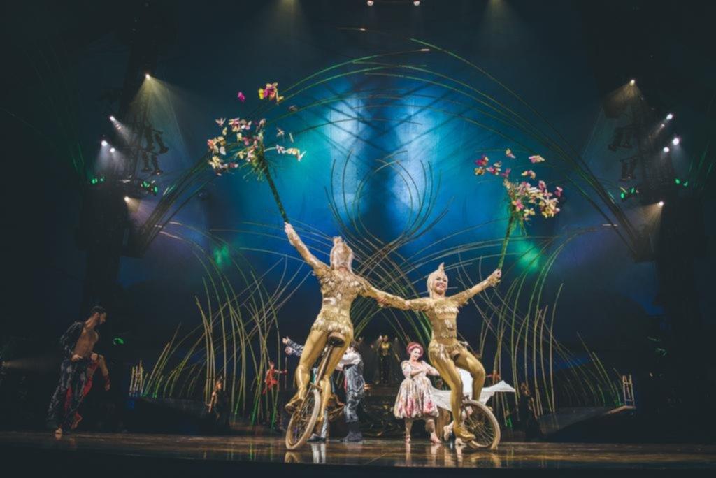 Amaluna la el ctrica energ a de las mujeres y el rock for Espectaculo circo de soleil