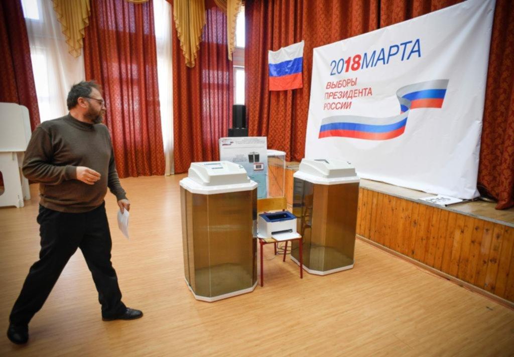 Vladimir Putin volvió a ganar las elecciones en Rusia