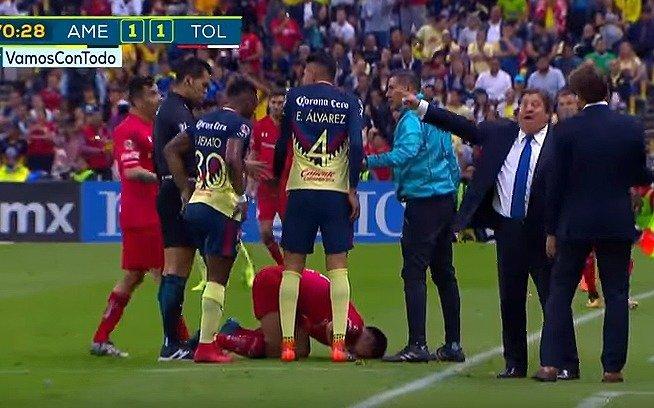 Miguel Herrera se pierde el Clásico Joven — AMÉRICA
