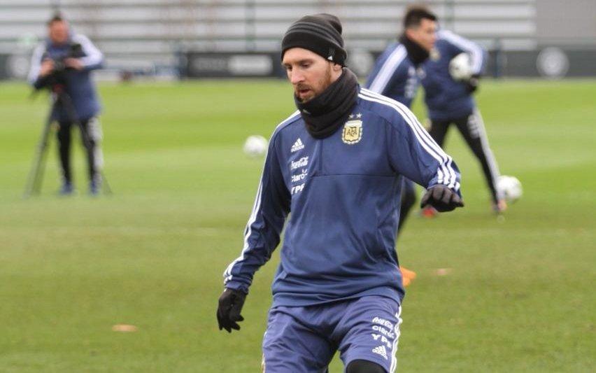 Qué actor argentino compartió el palco con Messi y Agüero en Manchester