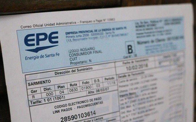 Factura de luz exorbitante para una PyME: 270 mil pesos