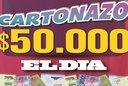 ¡Controlá tu Cartonazo, hay 50 mil pesos en juego!