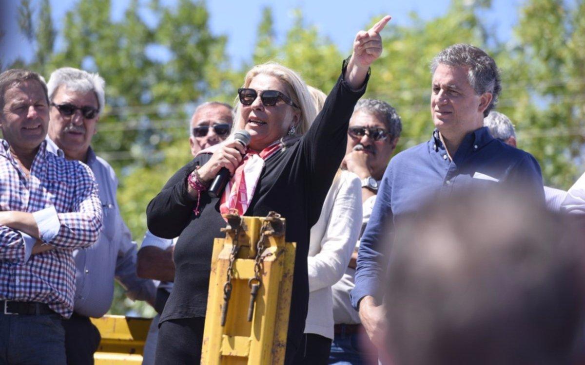 """Para Carrió, la liberación de Zanini y D'Elía son parte de un plan para """"liberar a De Vido"""""""