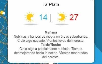 Se espera un martes con tiempo inestable y 29º de máxima - Santiago
