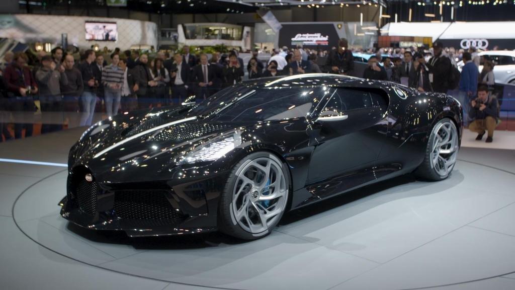 Bugatti presentó en Ginebra la Voiture Noire, el auto más caro de la historia