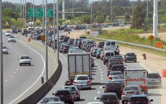 El fin de semana cierran el enlace de la Autopista con la 25 de mayo
