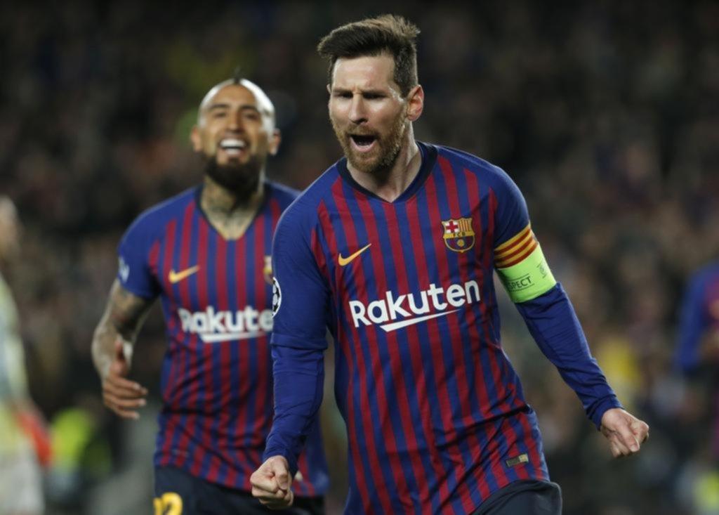 Messi, de otro planeta: con dos goles y dos asistencias metió al Barcelona en los cuartos