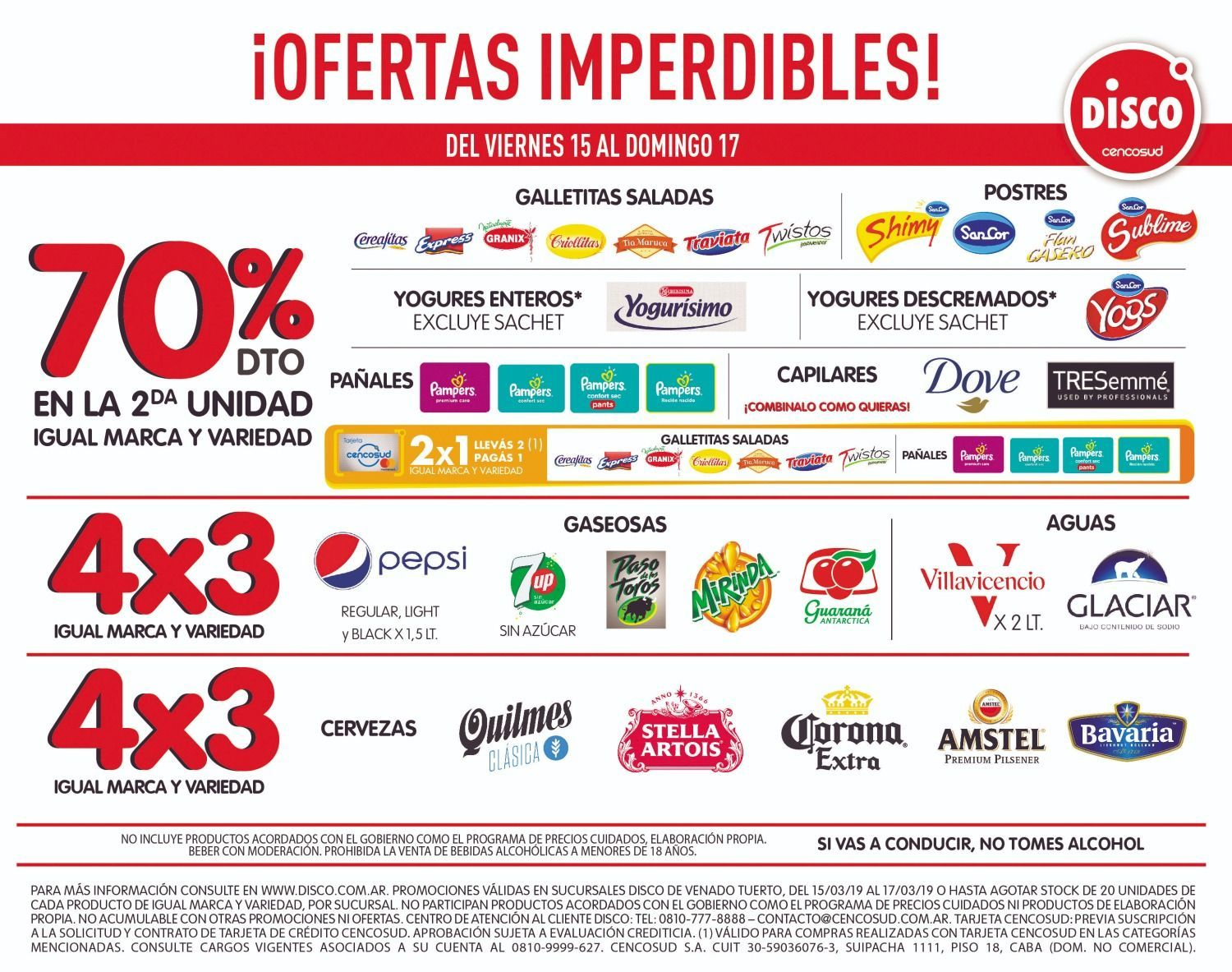 Ofertas imperdibles en Disco