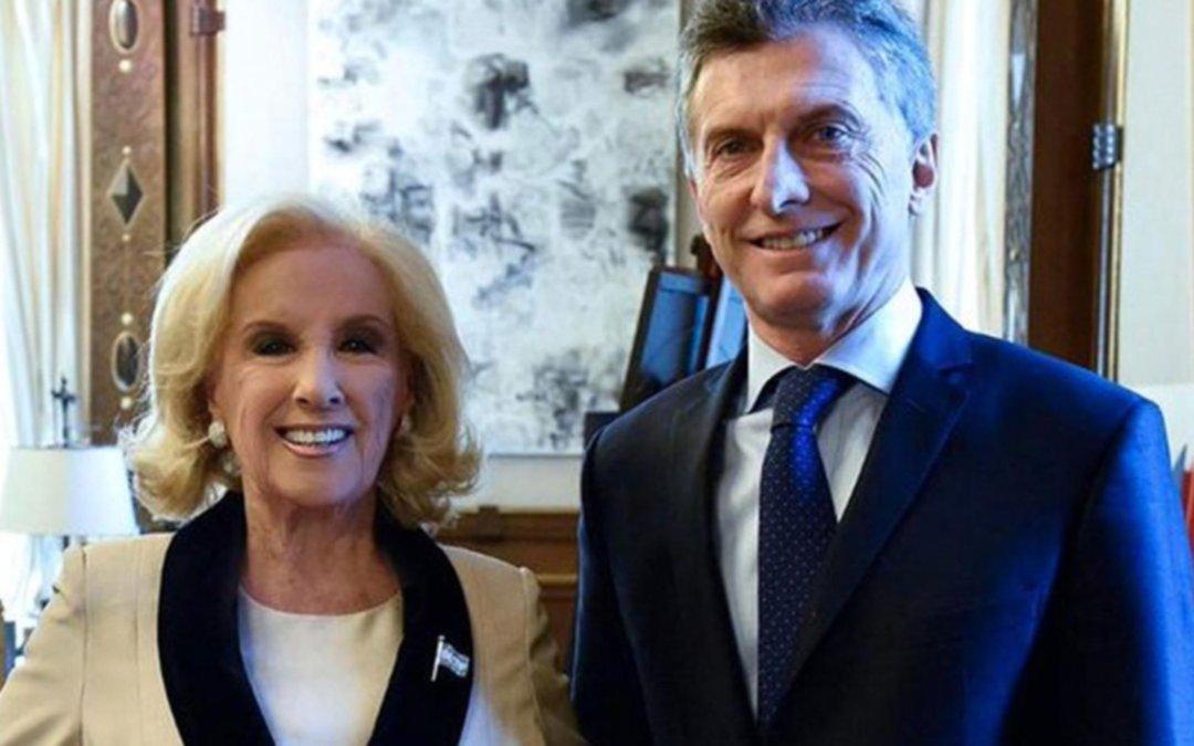 Mirtha Legrand anunció que volverá a votar a Mauricio Macri